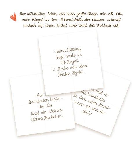 24 Kleine Boxen Adventskalender Schachteln Adventsboxen Zum