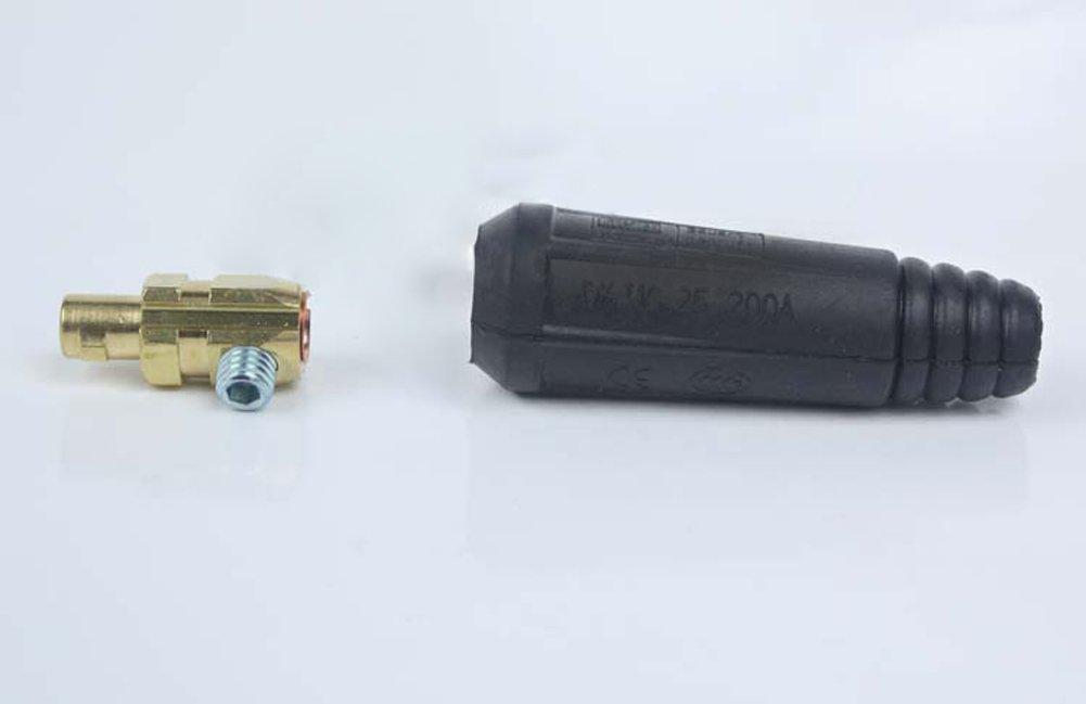 Tenflyer DKJ10-25 Cable Plug soldadura Conector macho: Amazon.es: Electrónica