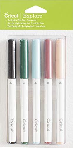 Cricut 2003450 Color Antiquity Fine Point Pen Set Assorted, Multi from Cricut
