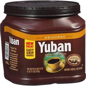 Yuban Original Medium Roast Ground Coffee 31 OZ (Pack of 12) by Yuban