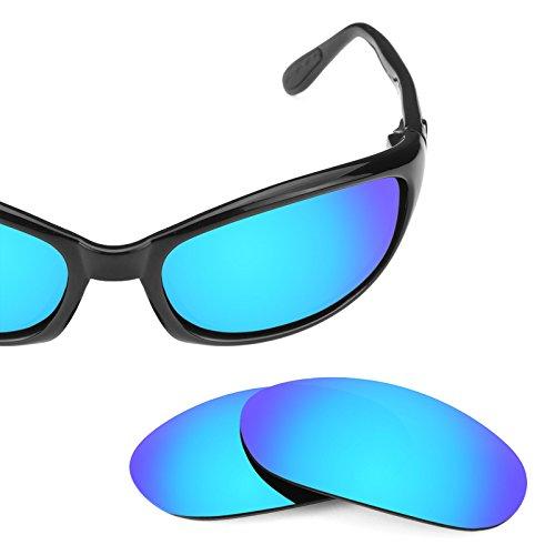 Verres de rechange pour Costa Harpoon — Plusieurs options Bleu Glacier MirrorShield® - Polarisés