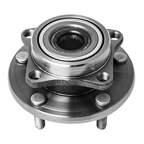 Front Wheel Hub and Bearing Assembly Left or Right Compatible Chrysler Sebring Dodge Avenger Dodge Stratus Coupe Eagle Talon Mitsubishi Eclipse Galant AUQDD 513157 [ 5 Lug ] ()