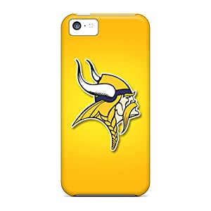 Iphone 5c SfC7536jUaS Custom Beautiful Minnesota Vikings Pattern Excellent Hard Cell-phone Cases -DannyLCHEUNG