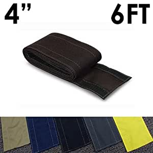 4 safcord carpet cord cover length 6ft color black home audio theater. Black Bedroom Furniture Sets. Home Design Ideas