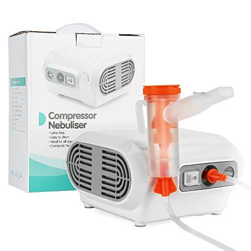 MGLIFMLY Portable Compressor Nebuliser, Home Nebuliser Machine Personal Steam Atomizer for Kids and Adult, Jet Nebuliser…