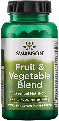 Swanson Fruit Vegetable Blend Capsules