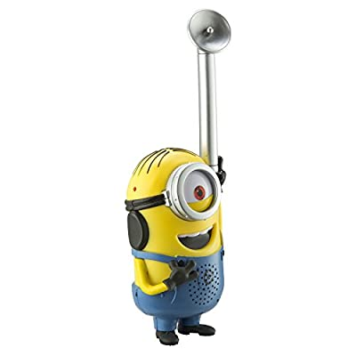 Minions from Despicable Me Eye-Conic FRS Long Range Static Free Easy to Use Durable Kid Friendly Dave and Stuart Character Walkie Talkies: Toys & Games