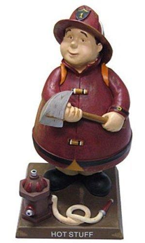 Russ Berrie: Bobble Guyz Firefighter Figurine