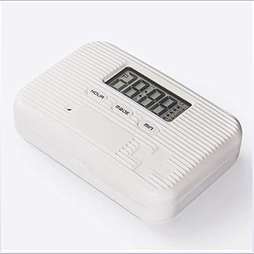 XXBF Pastillero electronico automatico Alarma + vibración Sellado Impermeable para Pacientes con Parkinson: Amazon.es: Hogar