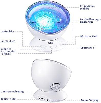 luz nocturna lámpara lámpara de luz nocturna infantil LED techo ...