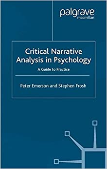 Book Critical Narrative Analysis in Psychology: A Guide to Practice