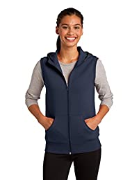Sport-Tek Women's Hooded Fleece Vest