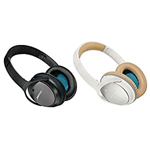 Bose QuietComfort 25 Acoustic Noise Cancelling Headphones for Apple Devices - White (Wired, 3.5mm)