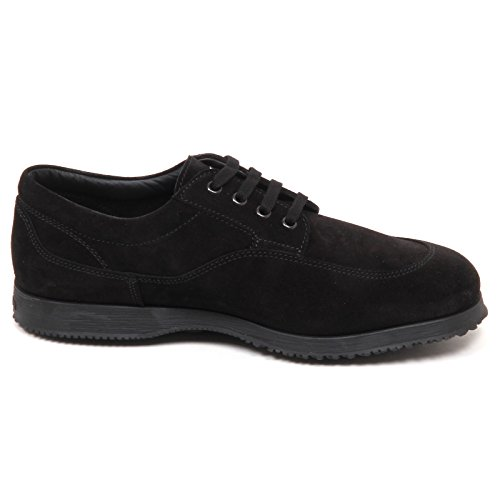 Shoe Scarpe Traditional Hogan Nero Scarpa Nero E4350 Suede Man Uomo wqXX0IS