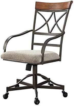 Powell Hamilton Swivel-Tilt Dining Chair on Casters