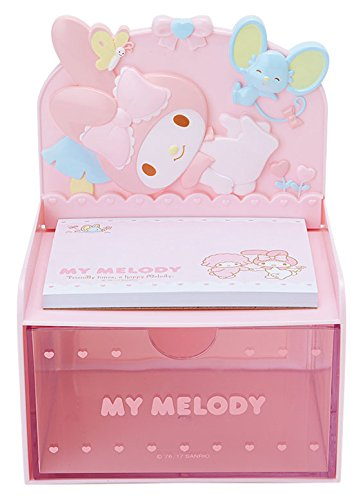 My Melody Desktop Chest With Memo Pad: Pink by SANRIO (Image #5)