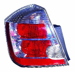 Depo 315-1958L-AC1 Nissan Sentra Driver Side Replacement Taillight Assembly (Nissan Sentra Dealer)