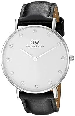 Daniel Wellington Women's 0961DW Classy Sheffield Analog Display Quartz Black Watch