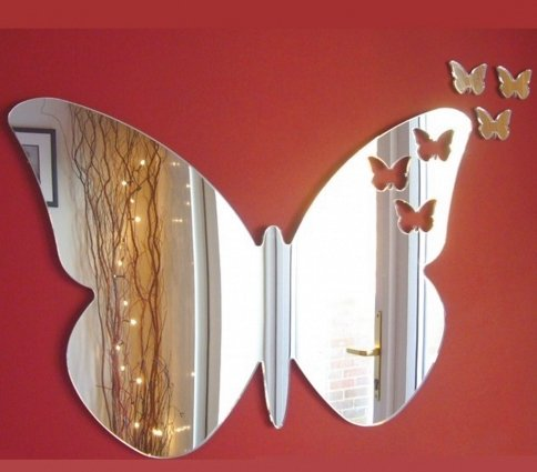 Butterflies Out of Butterfly Mirror