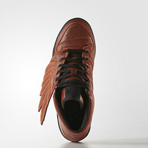 info for 7d240 57787 Adidas Originals Jeremy Scott JS Wings B-Ball Shoes, Red Rouge 30%