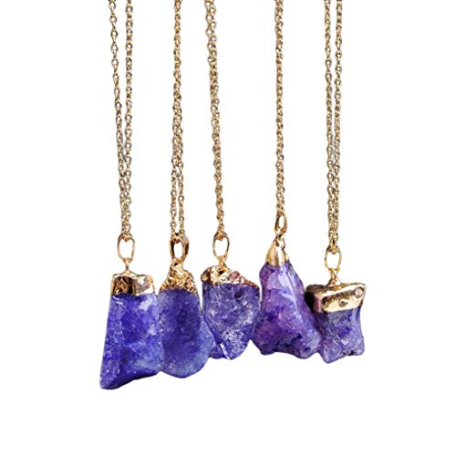 Wensltd Clearance! Women's Luxury Crystal Pearls Pendant Necklace Sweater Chains (F) ()