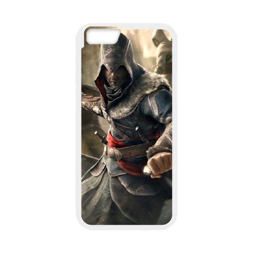 Ezio Auditore Da Firenze 002 coque iPhone 6 Plus 5.5 Inch Housse Blanc téléphone portable couverture de cas coque EOKXLLNCD15864