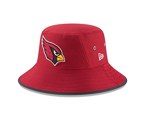 Arizona Cardinals New Era 2017 Training Camp Official Bucket Hat - Red (Hat Camp Training)