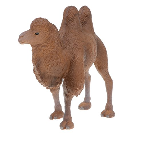 Homyl Realistic Wild Bactrian Camel Animals Figure Toys Forest Farm Ocean Creatures Action Models Kids Educational Cognitive Statues Toy Home Decor