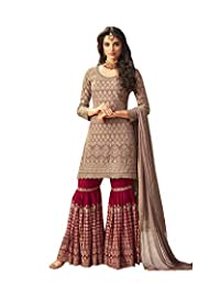 ziya Women's Collection Indian Pakistani sharara Palazo Suit MOHINI