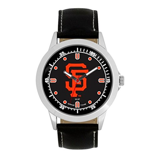 (Game Time- MLB San Francisco Giants Player Series Watch, Black, 44.00mm)