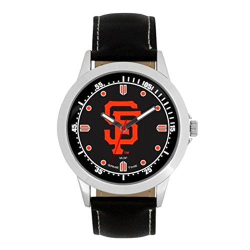 (MLB San Francisco Giants Mens MLB-Player Series WatchWatch, Black, 44.00mm)
