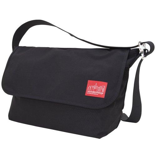 Manhattan Portage Vintage Messenger Bag (Black)