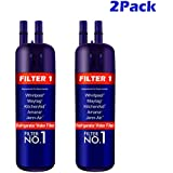 Refrigerator Replacement Water Filter 1 Compatible for EDR1-RXD1 W1-0295370A Kenmore 4690-81 469930(2 Pack)