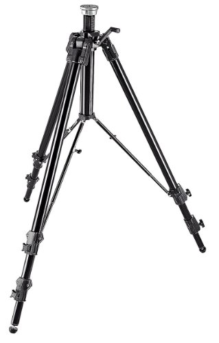 Manfrotto 161MK2B Super Pro Tripod Mark 2 - Replaces 3258 3058 (Black) by Manfrotto