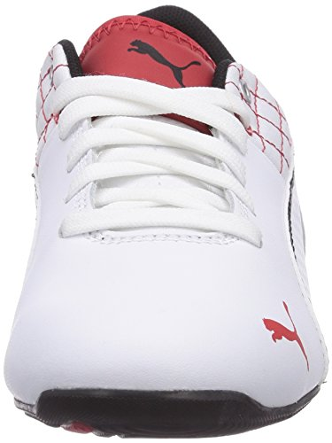 Puma Drift Cat 6 L SF Jr Unisex-Kinder Sneakers Weiß (white-white-black 04)