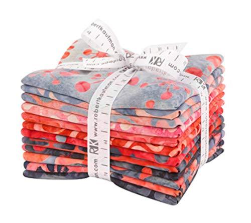 Robert Kaufman Fabrics Artisan Batiks Helsinki Watermelon 12 Fat Quarter Bundle by Lunn Studios for Robert Kaufman, Assorted