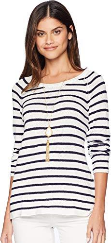 Lilly Pulitzer Women's Petrina Sweater Coconut Coastal Shell Stripe ()