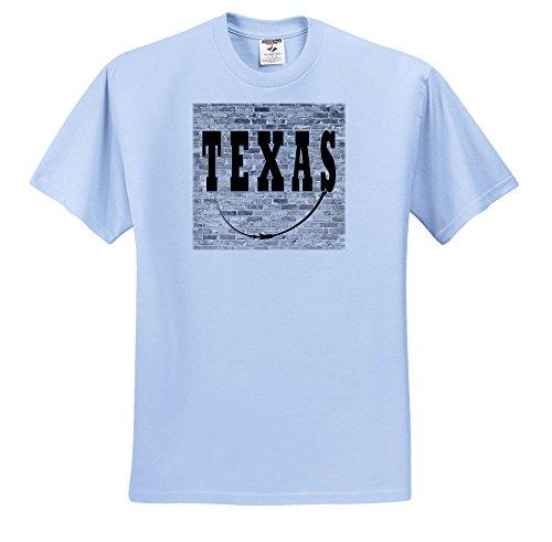 - 3dRose RinaPiro - US States - Texas. State Capital Is Austin. - T-Shirts - Toddler Light-Blue-T-Shirt (3T) (TS_268722_64)