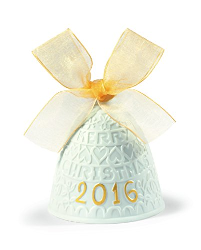 Annual Lladro (Lladro 2016 Annual Re- Deco Christmas Bell # 18410)