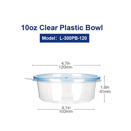 10 ounce freezer containers - 4