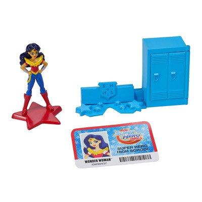 DC Super Hero Girls Move Over Boys Cake Topper Decoration Set by DecoPac