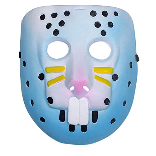 Premium Rabbit Raider Skin Rabbit Mask - Cosplay or Halloween Costume (Adult Party Clothing) -