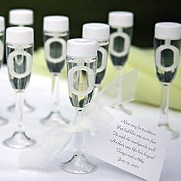72 Champagne Glass Bubble Wedding Favours New Amazon
