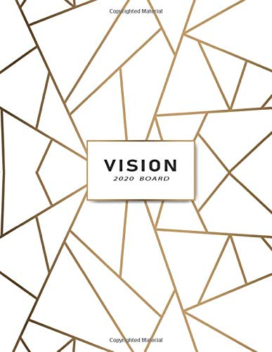 2020 Vision Board  Vision Board Book Visualization And Positive Affirmations Journal