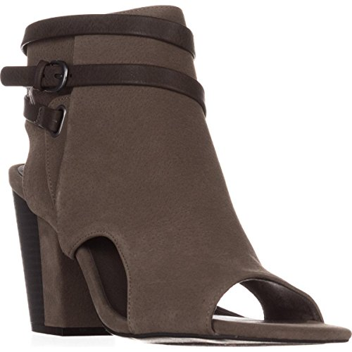 White Heel Sandals US 10 Block Grey Mountain Dress Shira f4rOt4