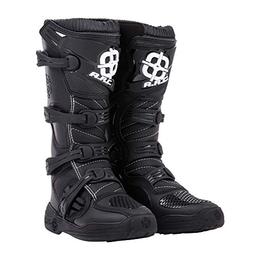 (A.R.C. Corona Motocross Boot - Black - Size 11 Men's)