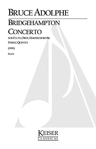 - Bridgehampton Concerto for Mixed Octet, Full Score