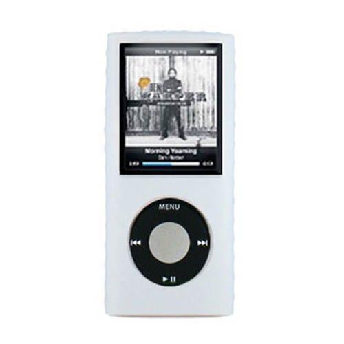 Clear Skin Cover w/ Belt Clip & Armband for Apple iPod nano (4th gen.) (open - Ipod 4 Nano Armband