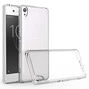 Sony Xperia XA1 Case, [Invisible Armor] Xtreme SLIM, CLEAR, SOFT, Drop protection TPU Rubber Bumper Case/ Back Cover