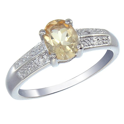 1.25 Ct Citrine Diamond - 8